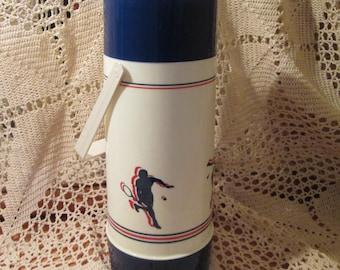 Vintage Aladdin Tennis Themed Thermos
