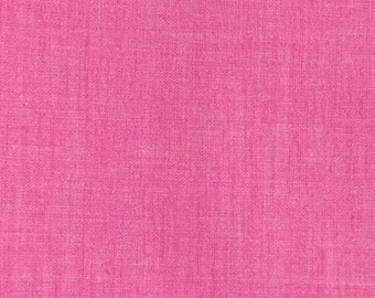 Cotton Blend Fabric / Pink Cotton Polyester Fabric Yardage 2.5 Yards