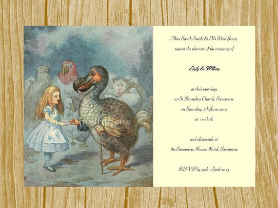diy printable a5 alice in wonderland alice and the dodo