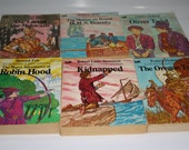 Lot of Illustrated Classic Edition Books, Six Titles