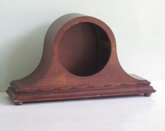 Vintage Wood Clock Case