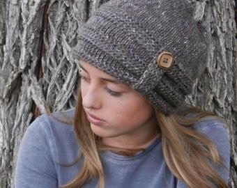 Crochet Hat Pattern - Slouchy Hat