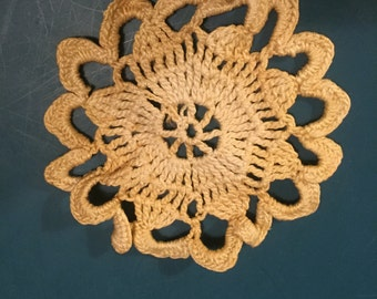 Small Ecru Doily