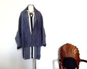 Felted Cape Jacket/Coat for everyday Art  Wear, Slow design, momoish made