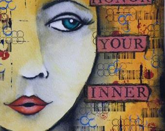 Inner Goddess Painting