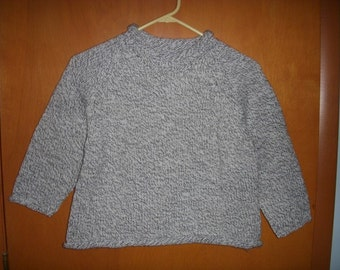 Hand-knitted Pulllover Sweater for boys or girls