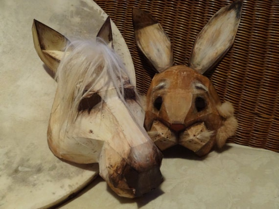 Printable Masks Diy Halloween Masks Make Your Own Horse