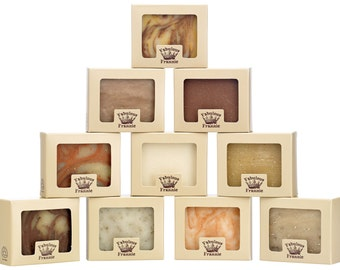 All Natural Herbal Soap Gift Set (Set of 10)
