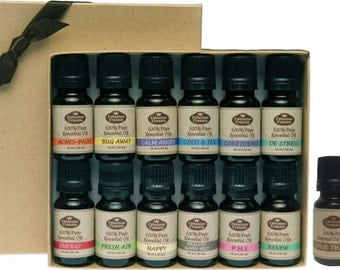 Baker's Dozen Gift Set (Includes 13-10ml Pure Essential Oil Blends)