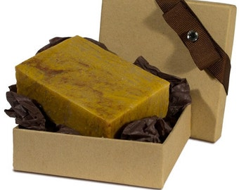 Patchouli Natural Herbal Bar Soap 4 oz - Gift Set