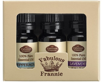 TOP 3 Set (Includes 3-10ml Pure Essential Oils)