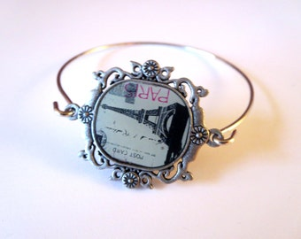 Paris Eiffel Tower  Necklace - paris bracelet