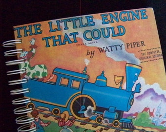 The Little Engine That Could blank book diary journal