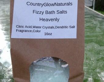 Relaxing Fizzy Bath Salts