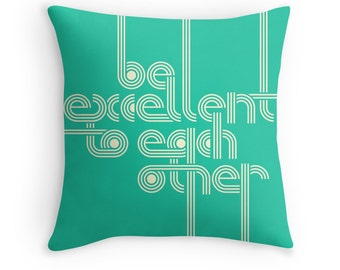 Retro Pop Art Throw Pillow for your Home Décor.