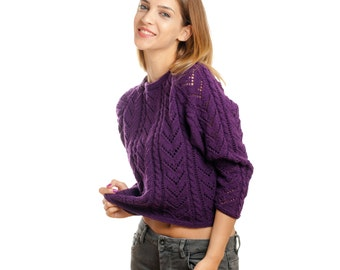Pullover from pure merino wool!