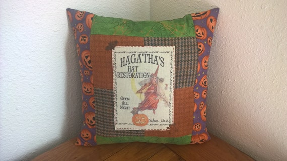 Halloween Pillow - Home Decor - Hagatha