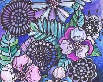 Day 110 - Makewells365 Art Print