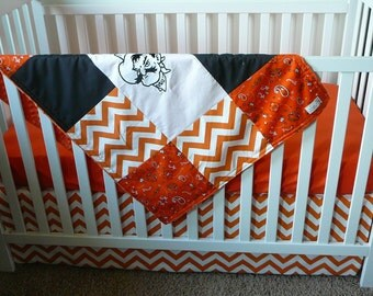 OSU Baby Quilt or Blanket