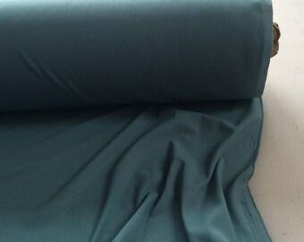 "Sea Foam Blue Green Semi Sheer Jersey Knit Fabric - Listing for 1 yard & 53"" Wide"