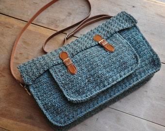 The Quotidian Satchel: Instant Download PDF Crochet Pattern