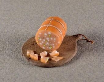 1/12 scale handmade dollhouse miniature Bologna Board.