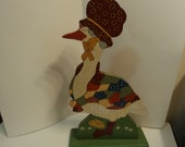 Folk Art / handmade Mother Goose