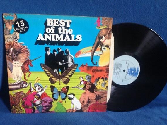 Vintage The Animals The Best Of Vinyl Lp