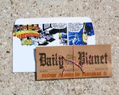Daily Planet Superhero Newspaper Invitation   Superhero Invitations (Digital, Printed Invitations, DIY Invitations, Digital Invites)