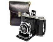 Kodak Duo 620 Series II - Vintage 1930's Folding Film Camera with Case