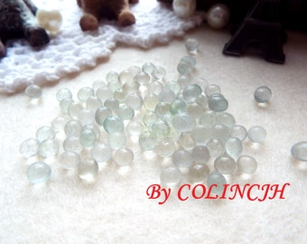 100g Solid fill glass particles doll transparent irregular weight gain