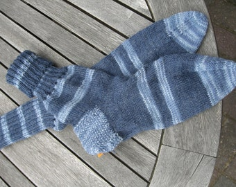 Socks, hand knitted baby sock up to size 50