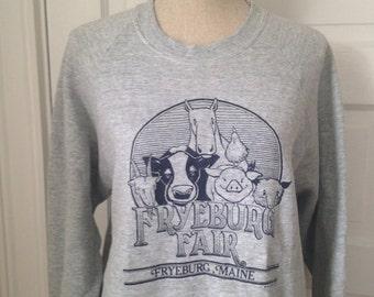 Vintage Fryeburg Fair 80s Sweatshirt