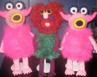 Mahna Mahna Muppet Inspired Amigurumi Pattern