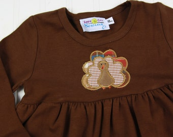 Thanksgiving Dress for Girls - Toddler Knit Dress - Baby Girl Thanksgiving Outfit - Turkey Dress - Fall Girls Knit Dress - Thanksgiving