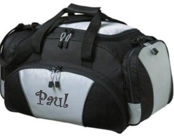 Personalized Gym Bag Duffel Monogram Duffle Sports