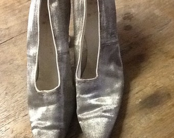 Vintage 1900's Edwardian Shoes Made by Flint & Kent