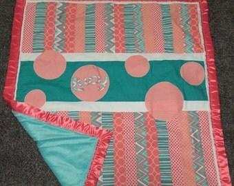 Stripe Name Blanket