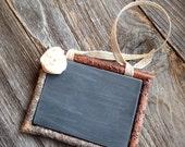 Wood Chalkboard Rustic Framed Chalkboard Save the Date Chalkboard Wedding Sign Two Sided Wooden Chalkboard