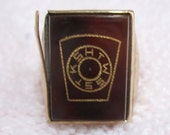 Vintage York Rite Masonic Mens 10k Gold Ring KSHTWSST
