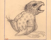Original Drawing - Avian 1