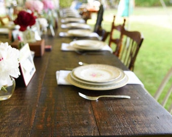New England Built Farm Tables - Delivery Available