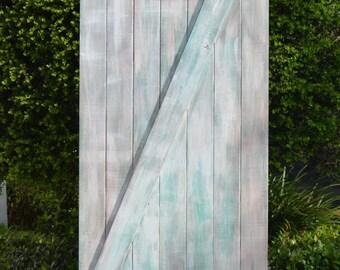 Shabby Chic Custom Sliding Barn Door