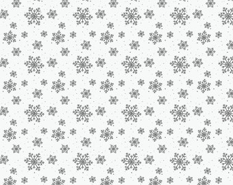 Vinyl Photography Backdrop Floordrop Prop - Frosted Snowflakes