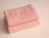 Newborn Knit Stretch Wrap, Olivia Newborn Wrap, Newborn Baby Wrap, Newborn Wrap, Newborn Photo Prop - PINK, PEACH
