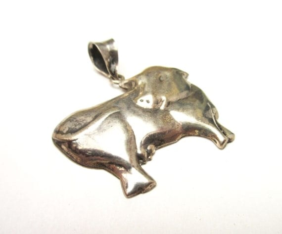 Sterling Cow Pendant -Silver figurine pendants