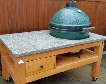 The Best XL Big Green Egg Table In America