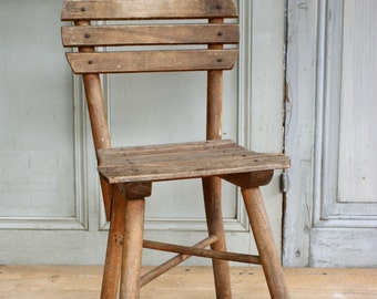 Vintage Thonet Child's Chair