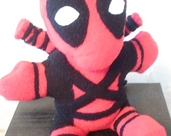 Deadpool Plushie with swords