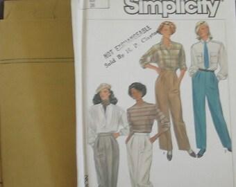 Vintage simplicity pattern 1980 pants